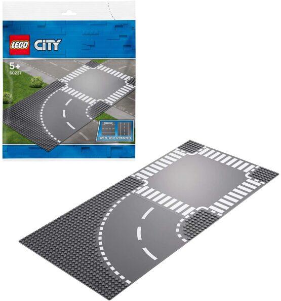 Lego City CurbĂ Și IntersecȚie 60237