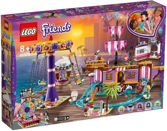 Lego Friends Debarcaderul Cu DistracȚii Din Heartlake City 41375