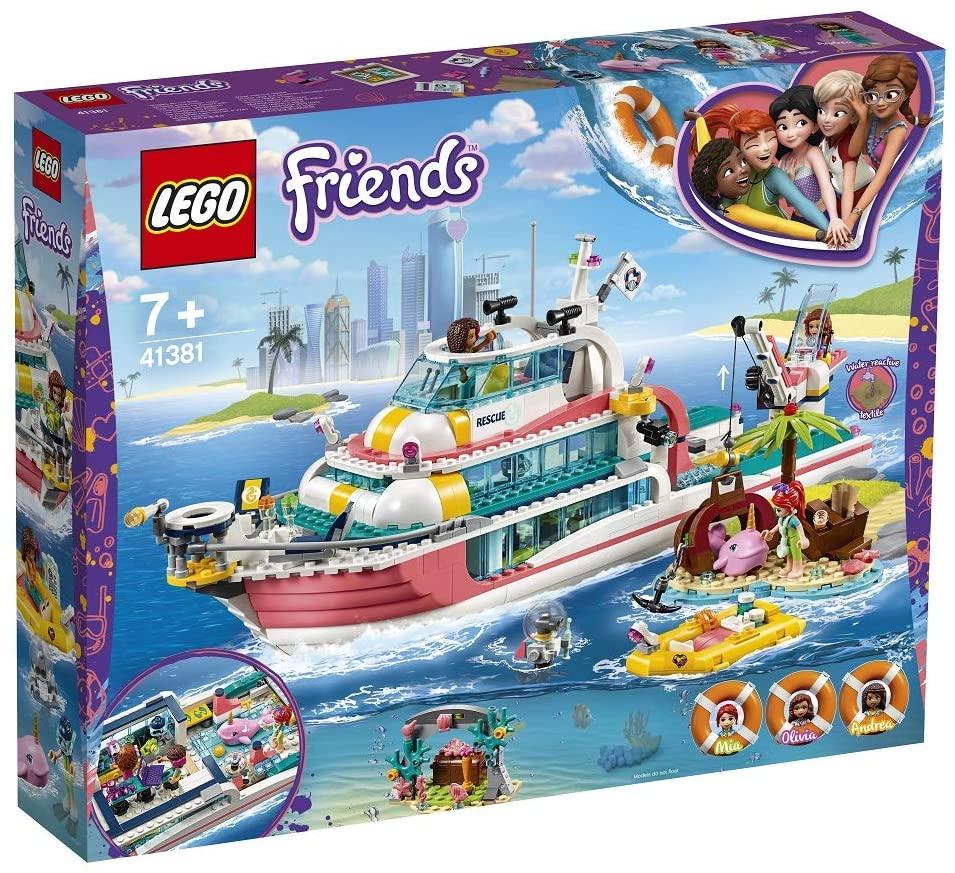 Lego Friends BarcĂ Pentru Misiuni De Salvare 41381