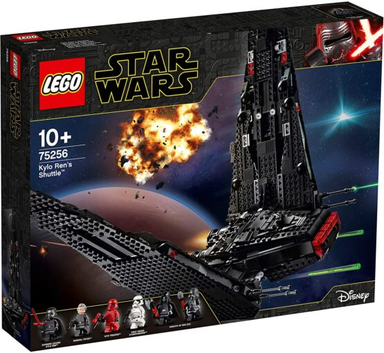Lego Star Wars Kylo Ren's Shuttle 75256