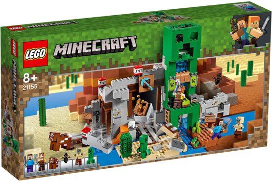 Lego Minecraft  Mina Creeper 21155