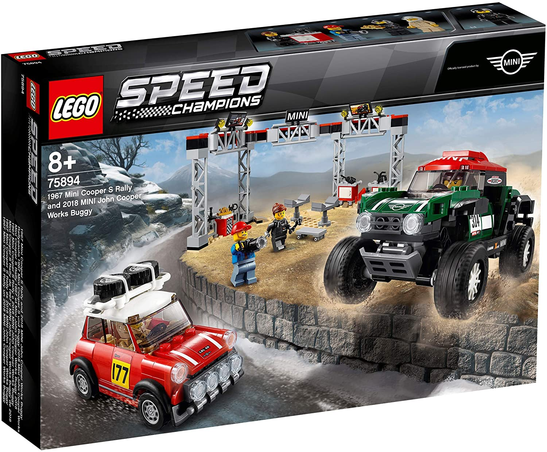 Lego Speed Champions 1967 Mini Cooper S Rally Și Automobil Sport 2018 Mini John Cooper Works 75894