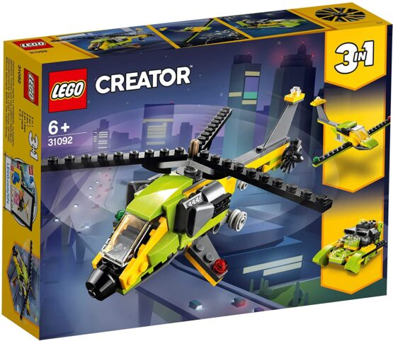 Lego Creator Aventura Cu Elicopterul 31092