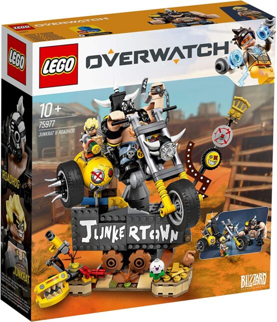 Lego Overwatch Junkrat Și Roadhog 75977