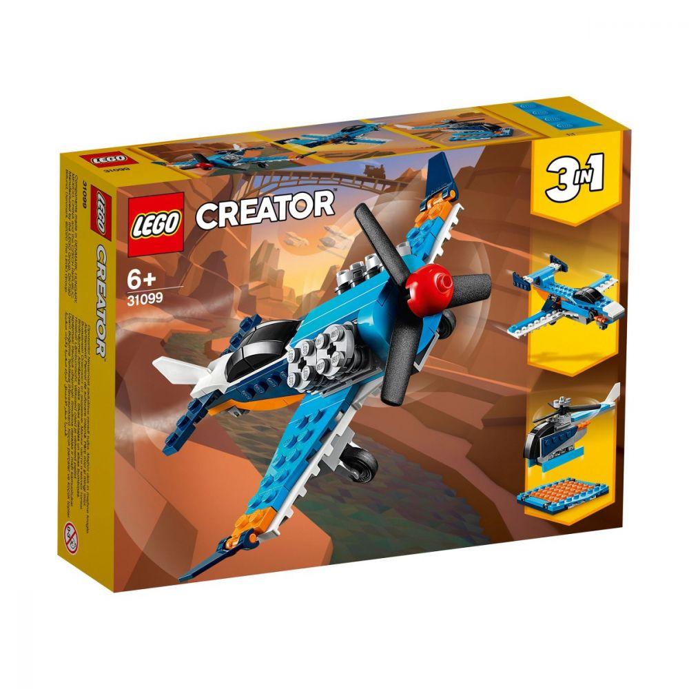 Lego Creator Avion Cu Elice 31099