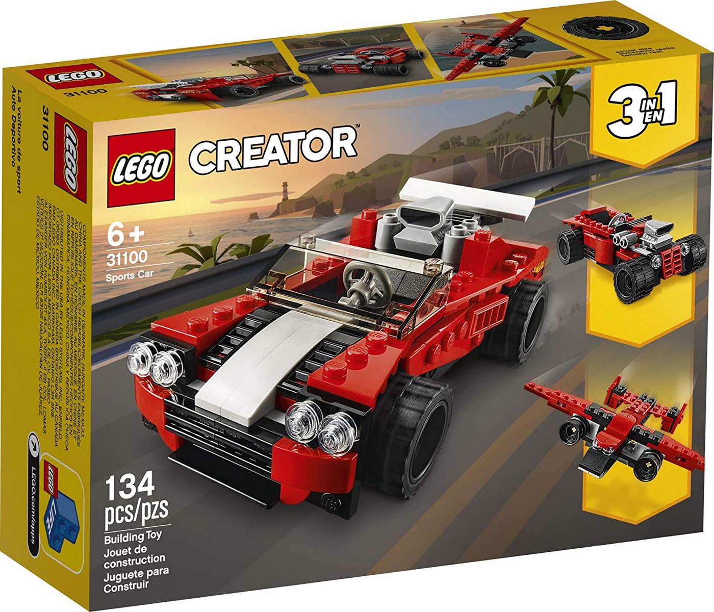 Lego Creator 3in1 Masina Sport 31100