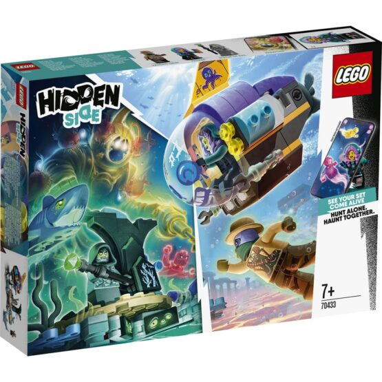 Lego Hidden Side  Submarinul Lui Jb 70433
