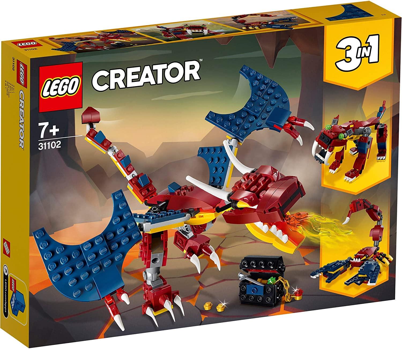 Lego Creator Dragon De Foc 31102