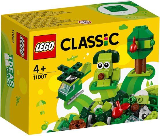 Lego Classic Caramizi Creative Verzi 11007