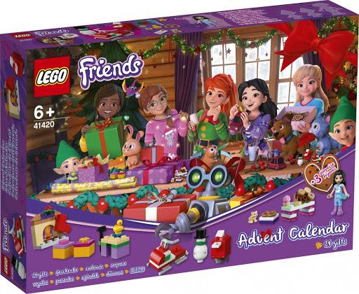 Lego Friends  Calendar De Craciun 41420