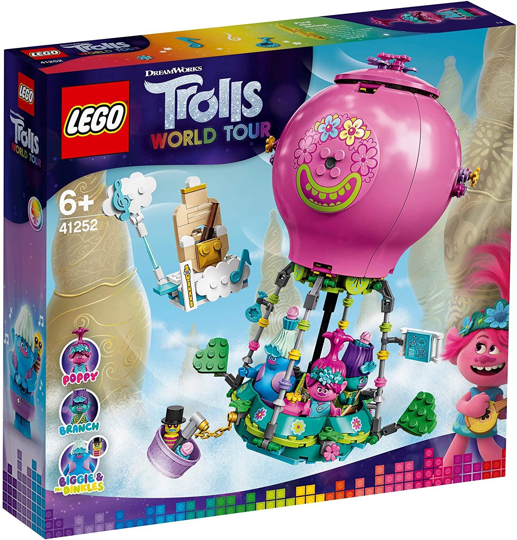 Lego Trolls World Tour Aventura Lui Poppy Cu Balonul Cu Aer Cald 41252