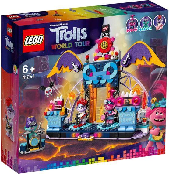 Lego Trolls World Tour Concertul Din OraȘul Volcano Rock