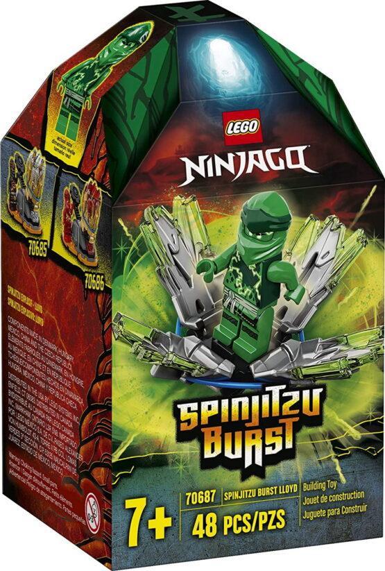 Lego  Ninjago Spinjitzu Burst 70687