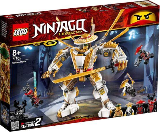 Lego Ninjago Robot De Aur 71702