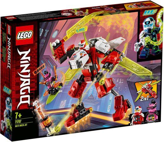 Lego Ninjago Robotul Avion Cu Reactie Al Lui Kai 71707