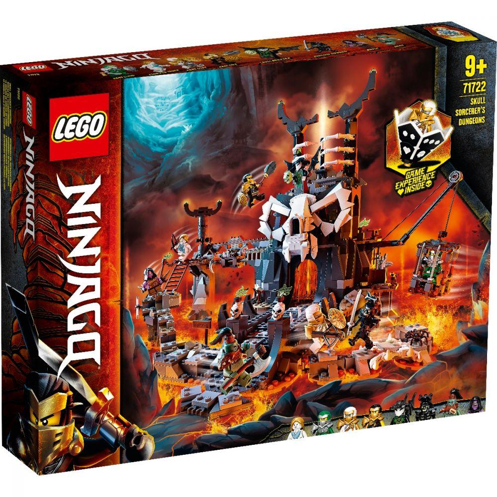 Lego Ninjago  Temnitele Vrajitorului Craniu 71722