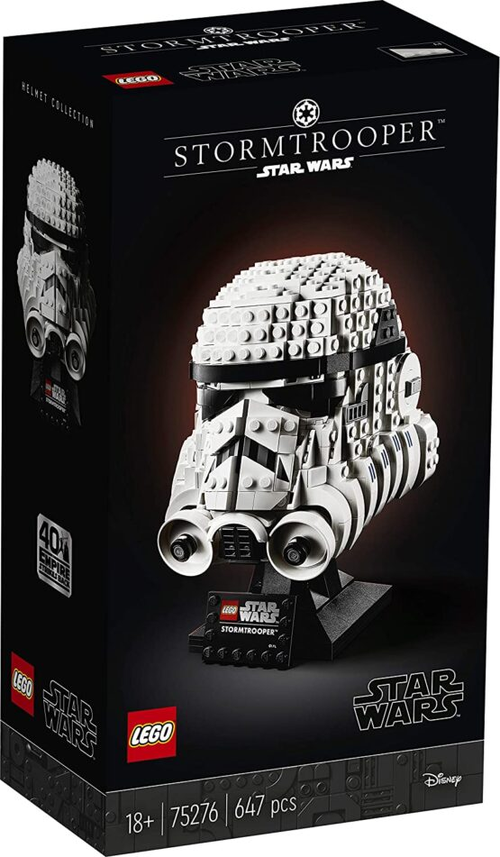 Lego Star Wars  Casca De Stormtrooper 75276