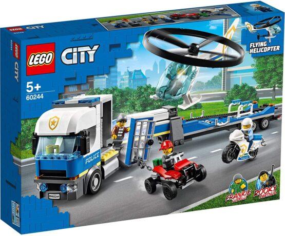 Lego City Transportul Elicopterului De Politie 60244
