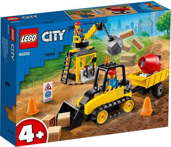Lego City Buldozer Pentru Constructii 60252