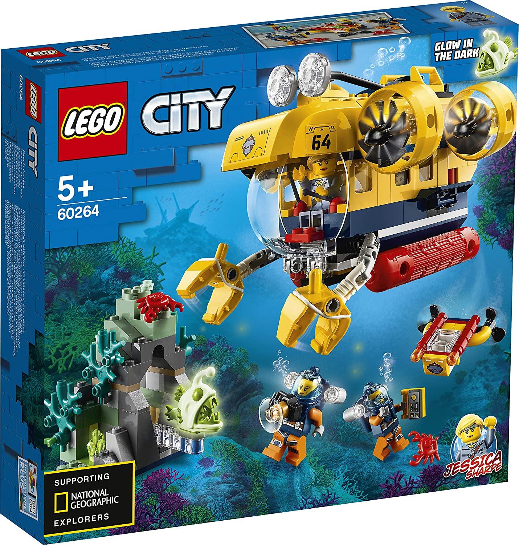 Lego City  Submarin De Explorare A Oceanului 60264