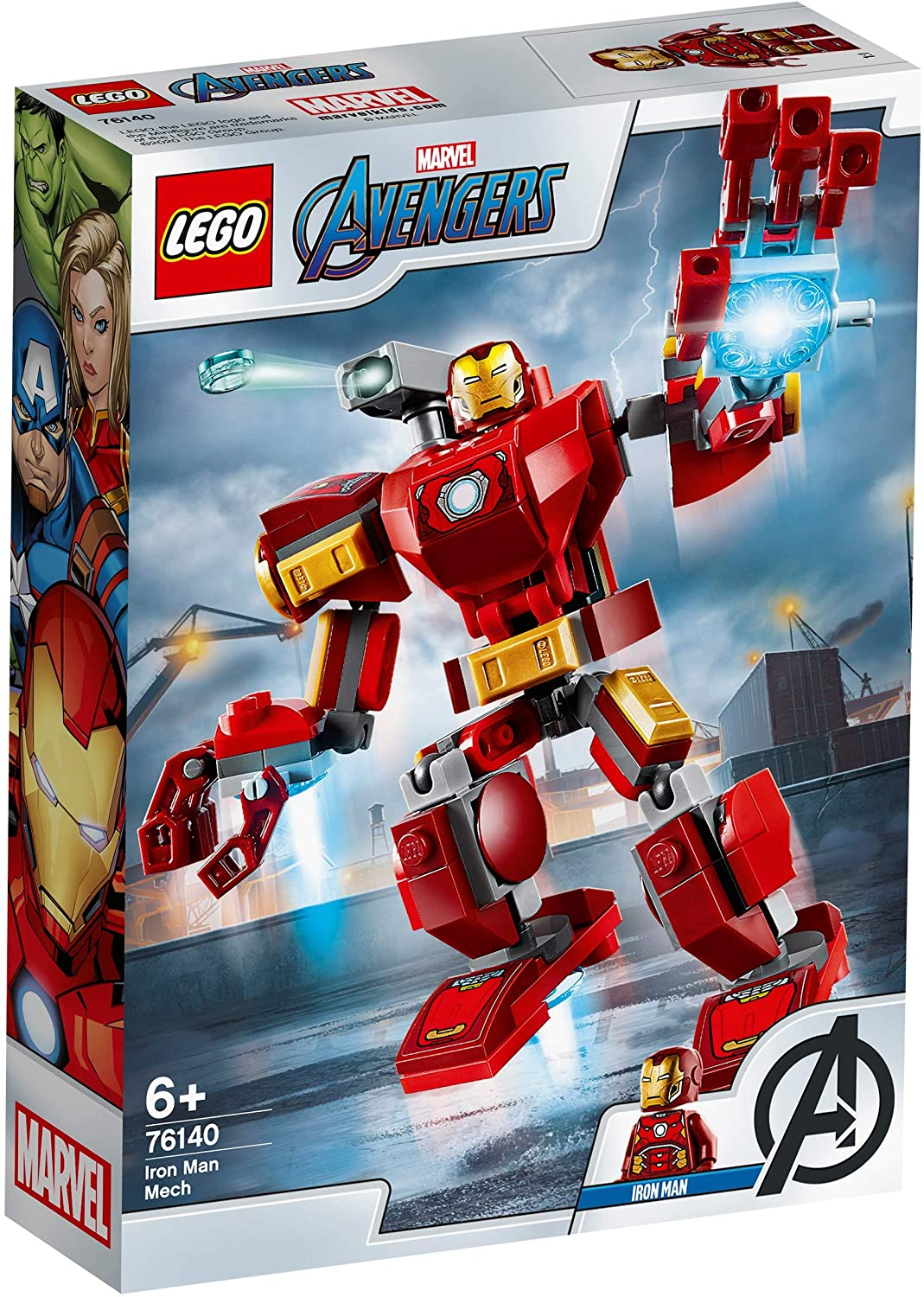 Lego Super Heroes Robot Iron Man 76140