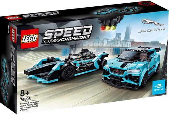 Lego Speed Champions Formula E Panasonic Jaguar Racing Gen2 Car Si Jaguar I-pace Etrophy 76898