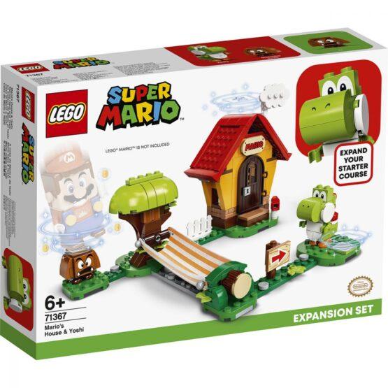 Lego Super Mario  Set De Extindere Casa Lui Mario Si Yoshi 71367
