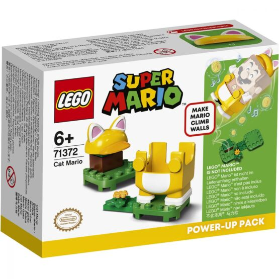 Lego Super Mario  Costum De Puteri Pisica 71372