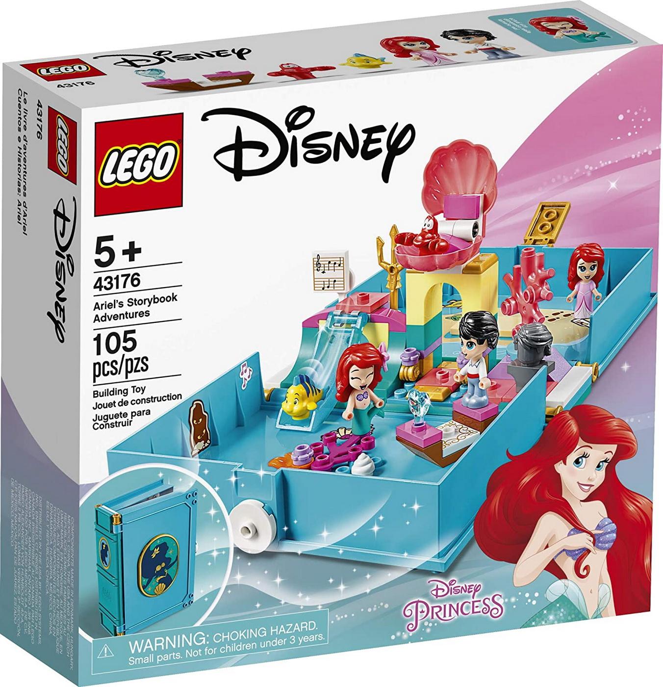 Lego  Disney Aventuri Din Cartea De Povesti Cu Ariel 43176