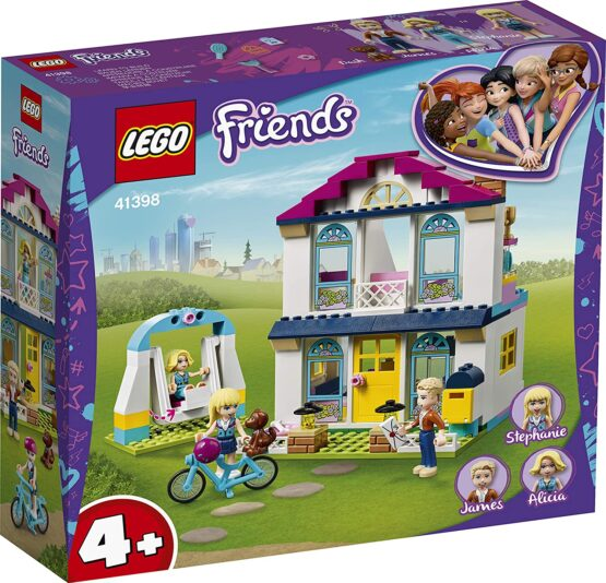 Lego Friends  Casa Lui Stephanie 41398