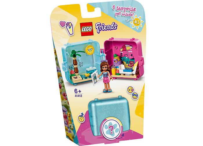Lego Cubul Jucaus De Vara Al Oliviei