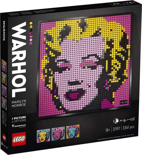 Lego Art 2020 Andy Warhol's Marilyn Monroe 31197