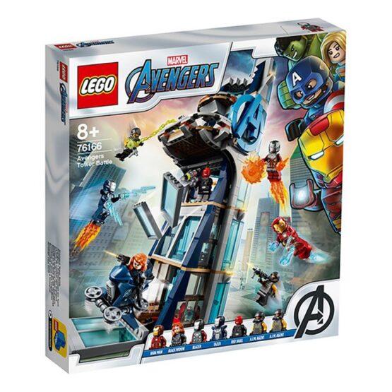 Lego Super Heroes  Lupta Din Turn A Razbunatorilor 76166