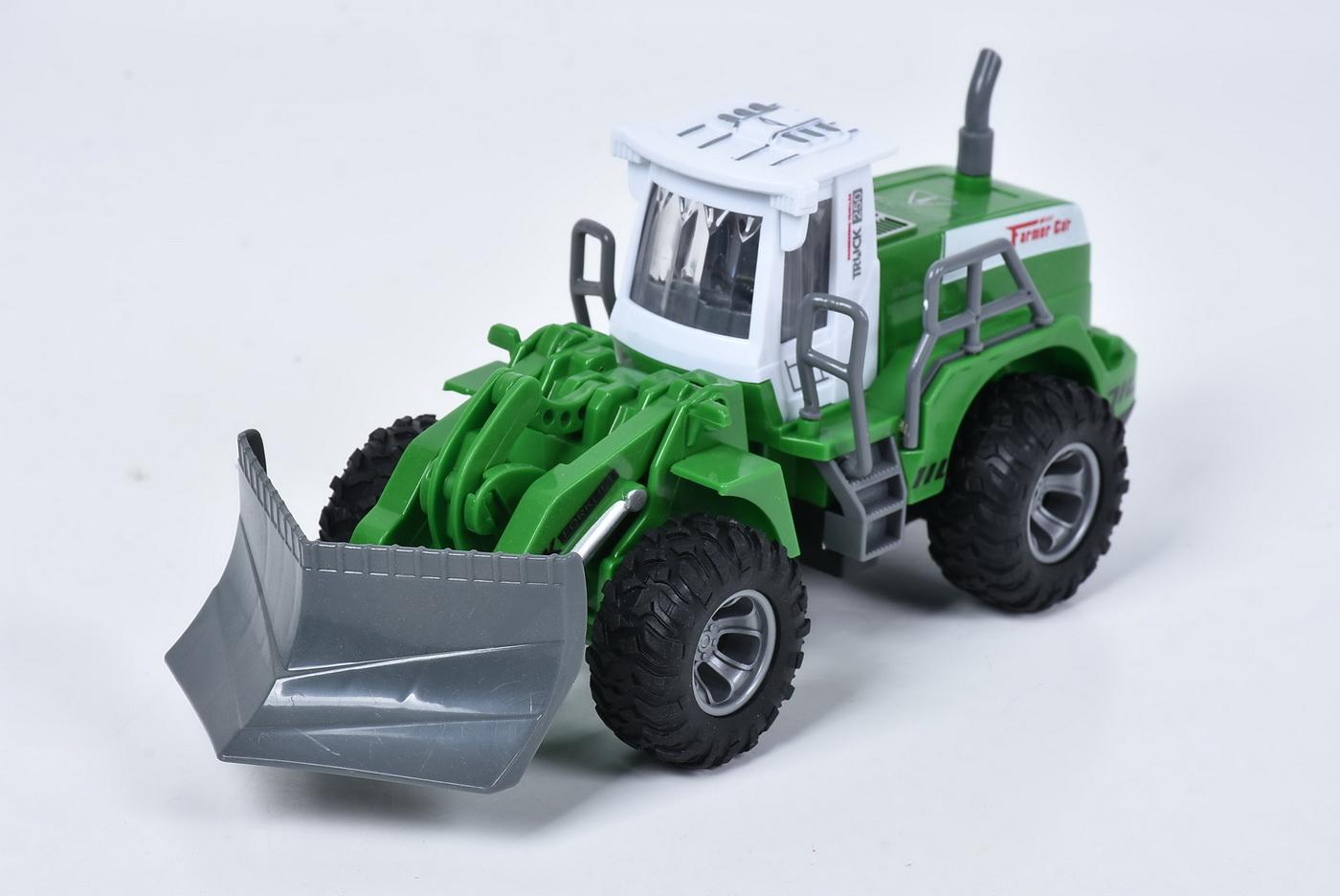Tractor Cu Lama Sunete Si Lumini