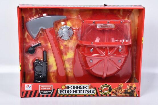 Set Micul Pompier Cu Accesorii
