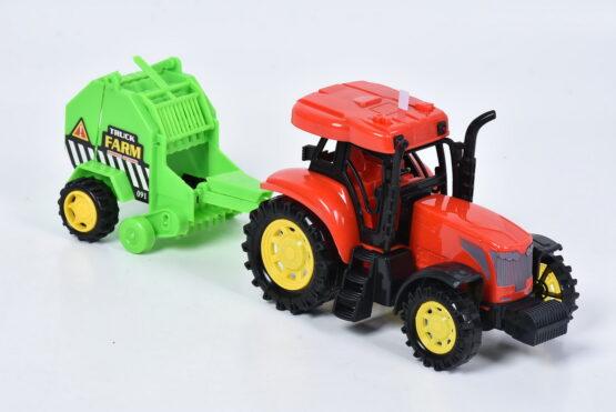 Tractor La Ferma Cu Frictiune Sunete Si Lumini