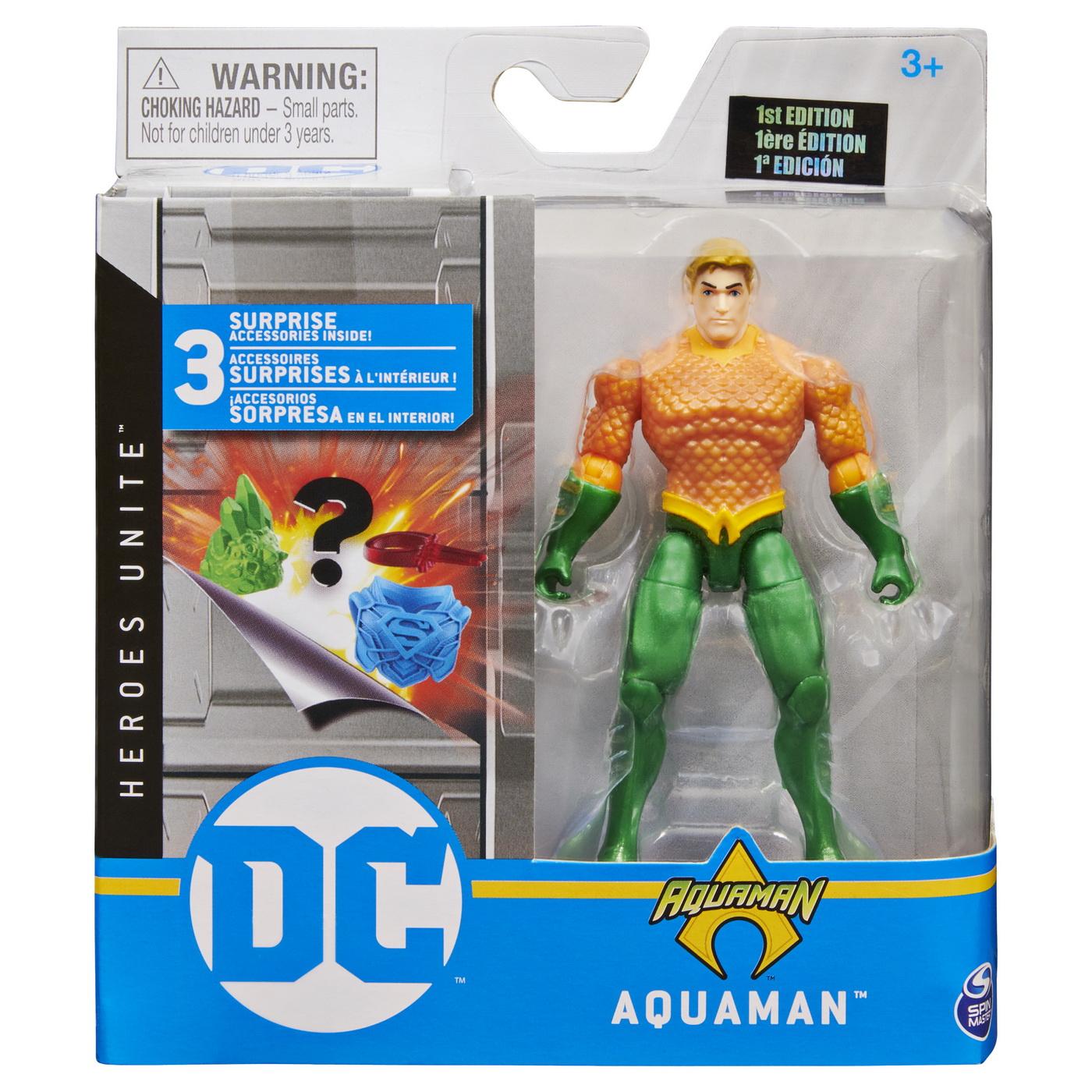Figurina Aquaman 10cm Articulata Cu Accesorii