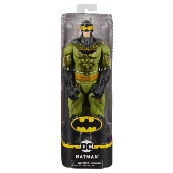 Figurina Batman 30cm In Costum Verde Camuflaj