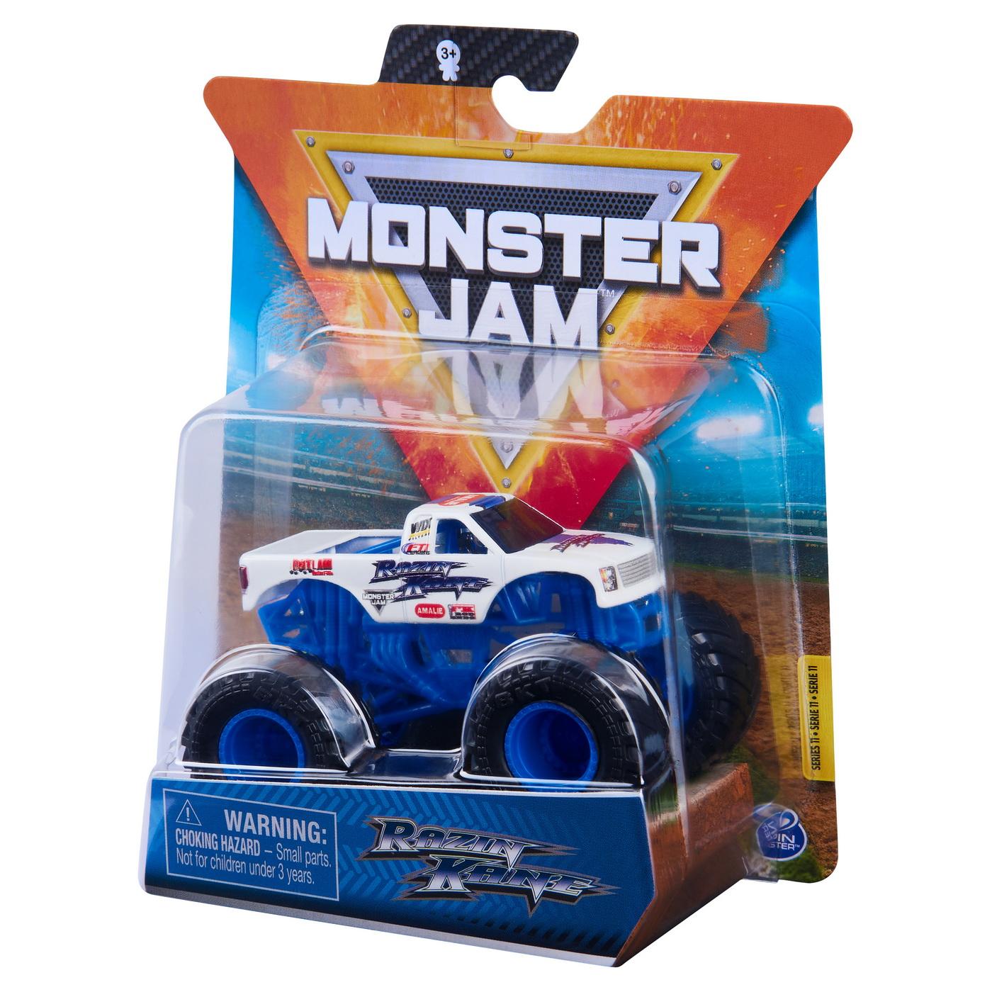 Monster Jam Masinuta Metalica Razin Kane Scara 1 La 64