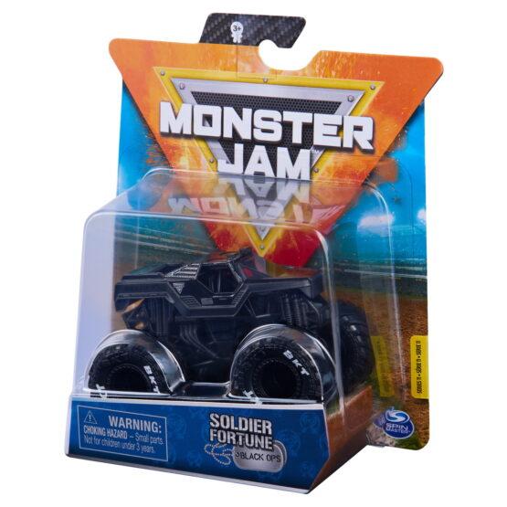 Monster Jam Masinuta Metalica Soldier Fortune Scara 1 La 64