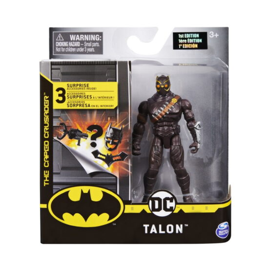 Figurina Talon 10cm Cu 3 Accesorii Surpriza
