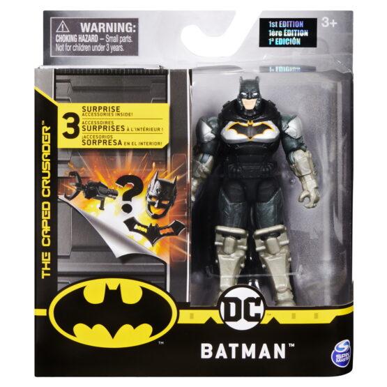 Figurina Batman In Costum Cu Armura 10cm Cu Accesorii Surpriza