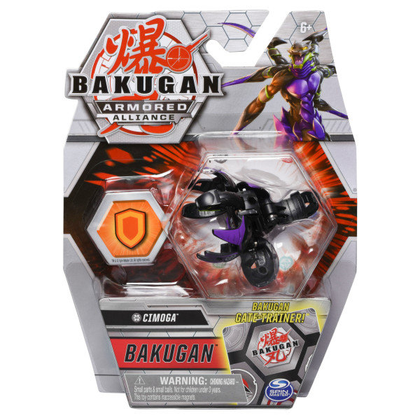 Bakugan S2 Bila Basic Cimoga Cu Card Baku-gear