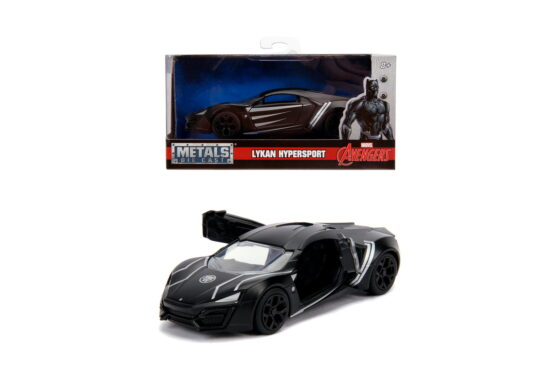 Masinuta Metalica Black Panther Lykan Hypersport Scara 1 La 32