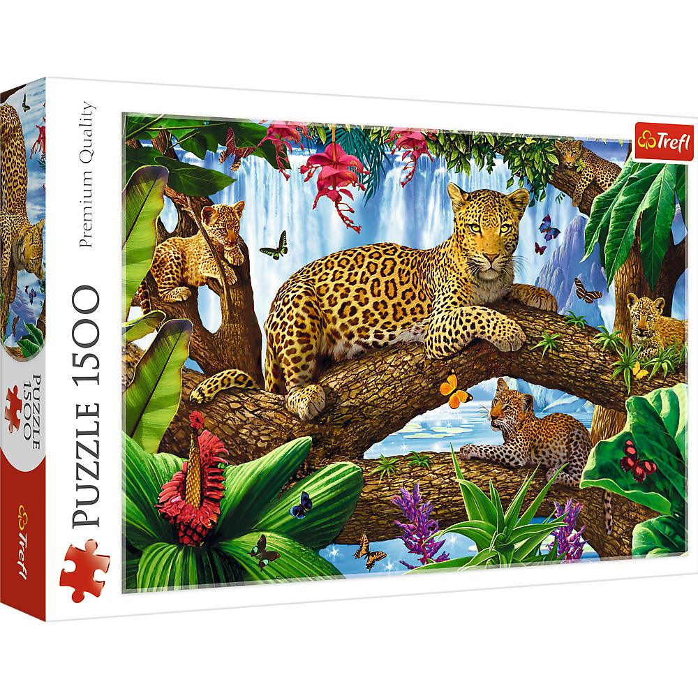 Puzzle Trefl 1500 Jaguar Intr-o Pauza Odihnitoare
