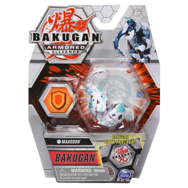 BAKUGAN S2 BILA BASIC MAXODON CU CARD BAKU-GEAR