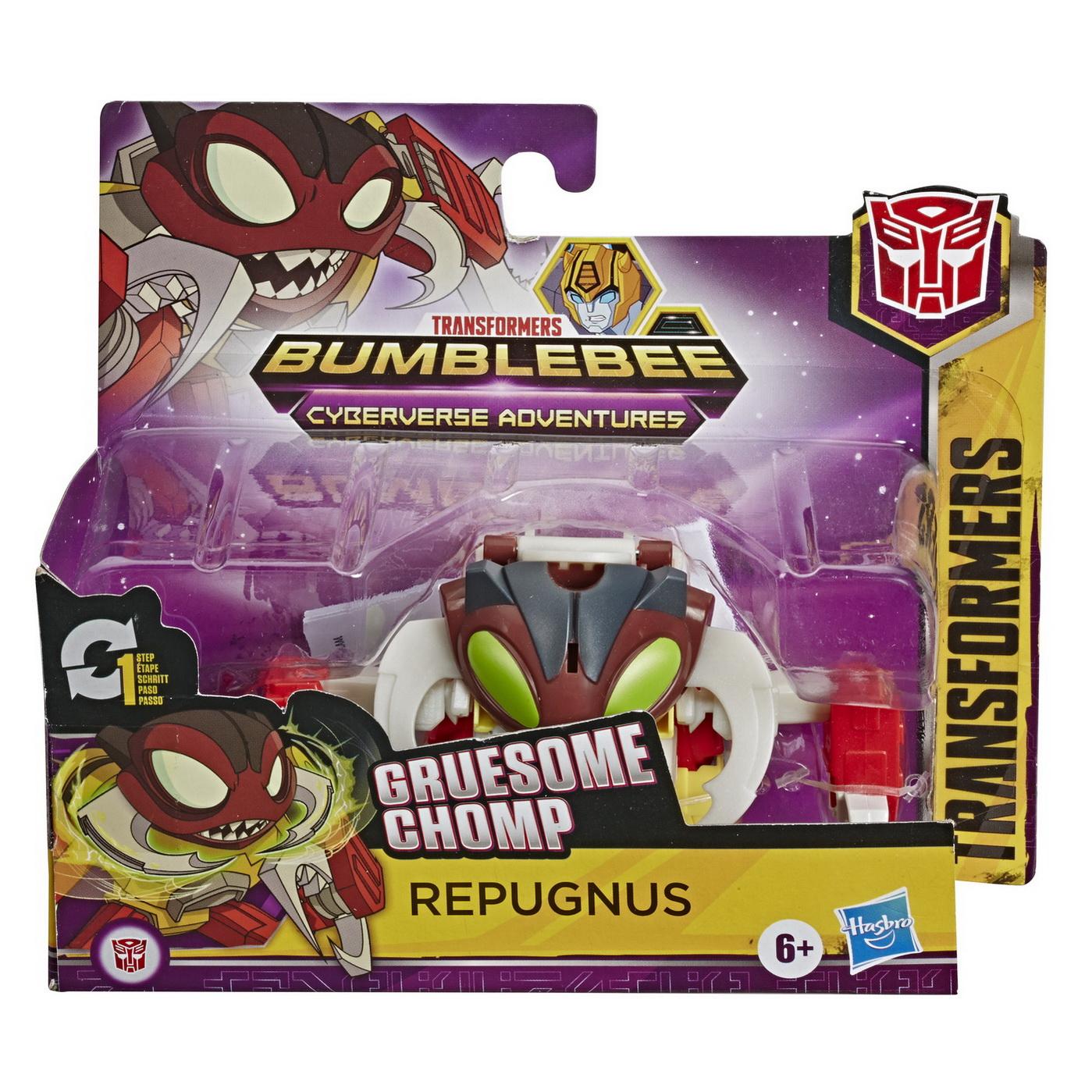 Transformers Robot Vehicul Cyberverse 1 Step Decepticon Repugnus