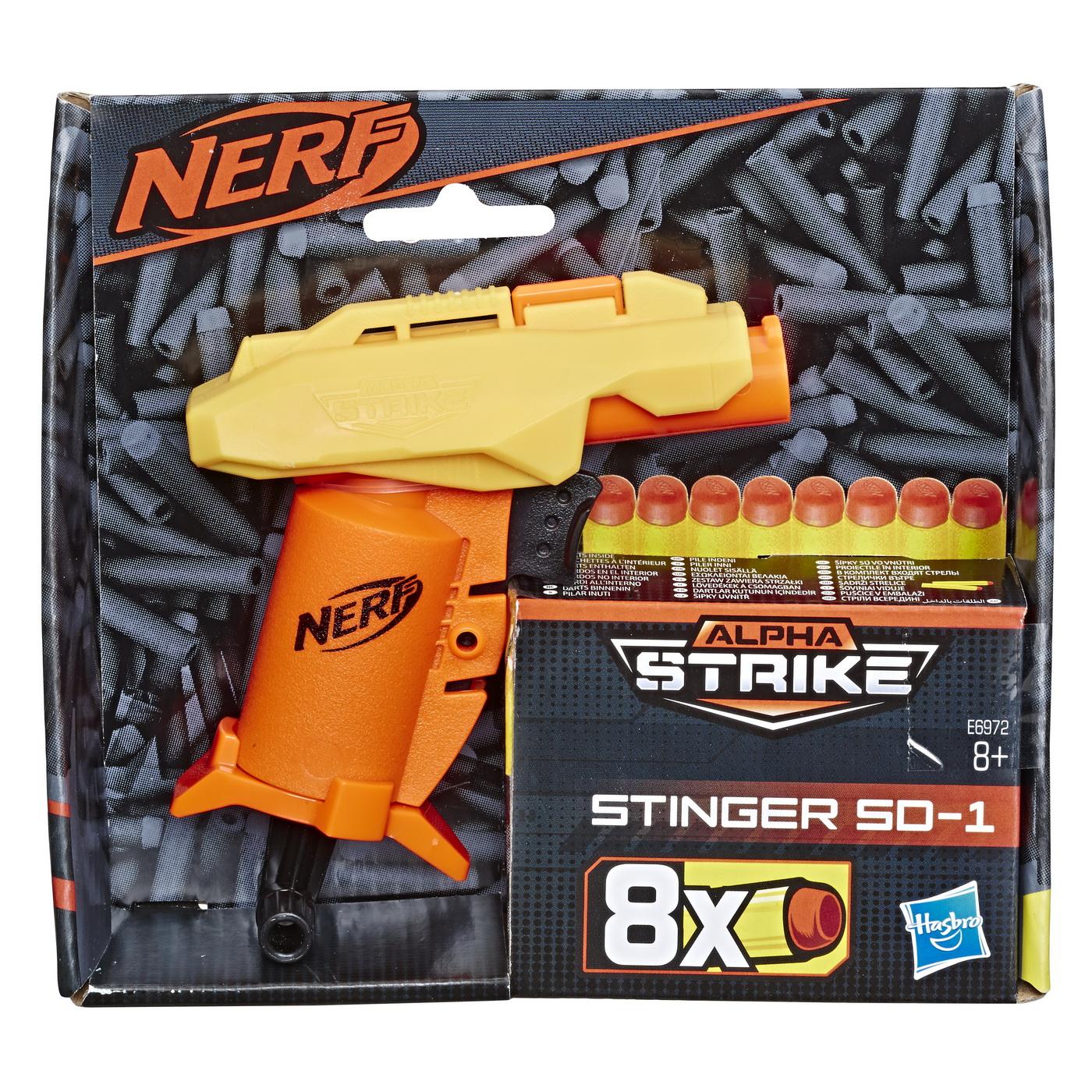 Nerf Blaster Alpha Strike Stinger Sd 1