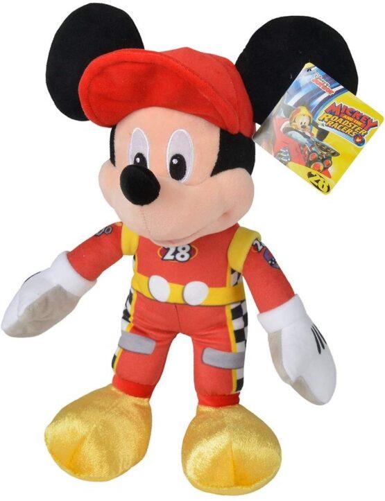 Jucarie De Plus Mickey Mouse 25cm Roadster Racers