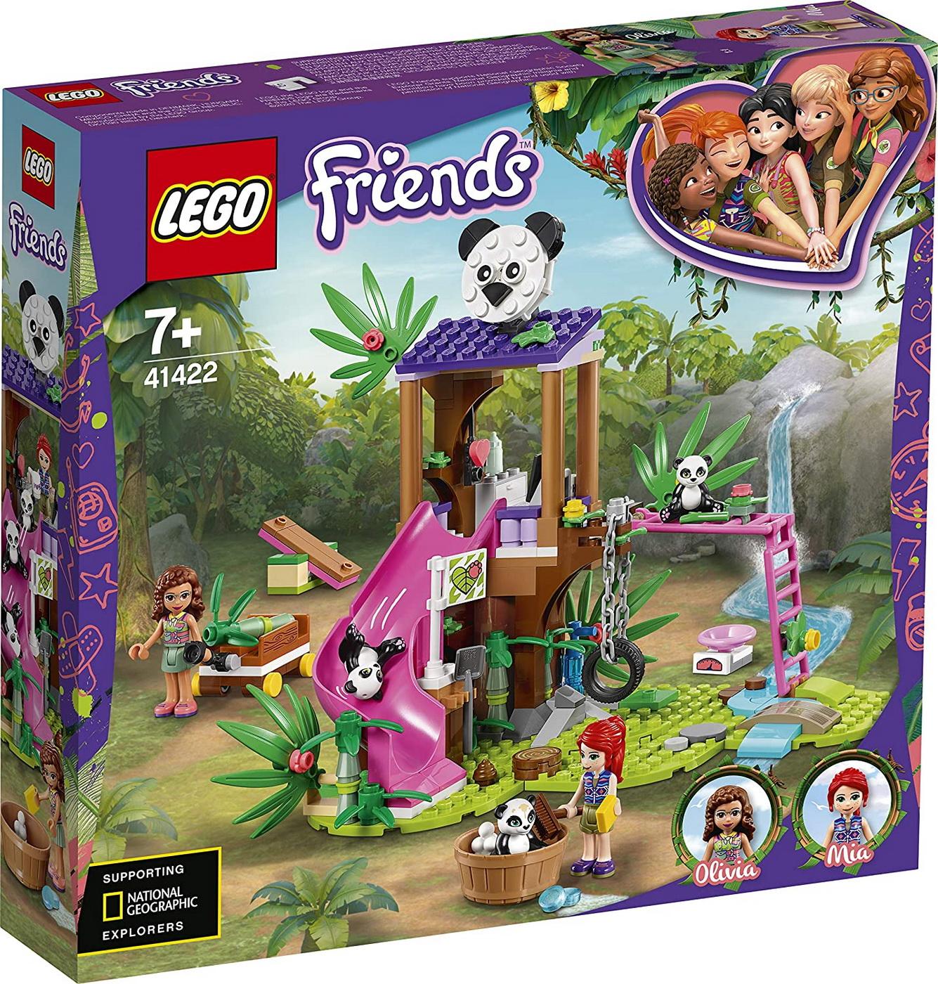 Lego Friends Casuta Din Copac In Jungla A Ursilor Panda 41422